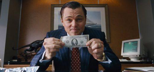 華爾街之狼(The Wolf of Wall Street)。