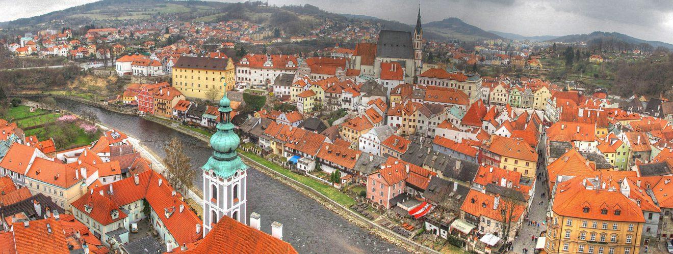 捷克克魯姆洛夫城鎮(Český Krumlov, credits: azuaje)