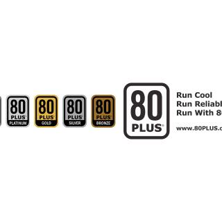電源供應器 80Plus 認證標籤。