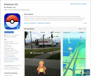 Pokemon Go Apple iOS iPhone iPad App Store Reference Pokemon Go 神奇寶貝下載與安裝(Apple iOS、Google Android 手機 App)
