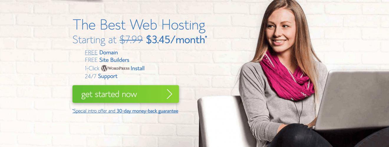 Bluehost Best Host Server Cheap Coupon Bluehost 伺服器|秋季優惠2天限時特價 部落客與網站主必看