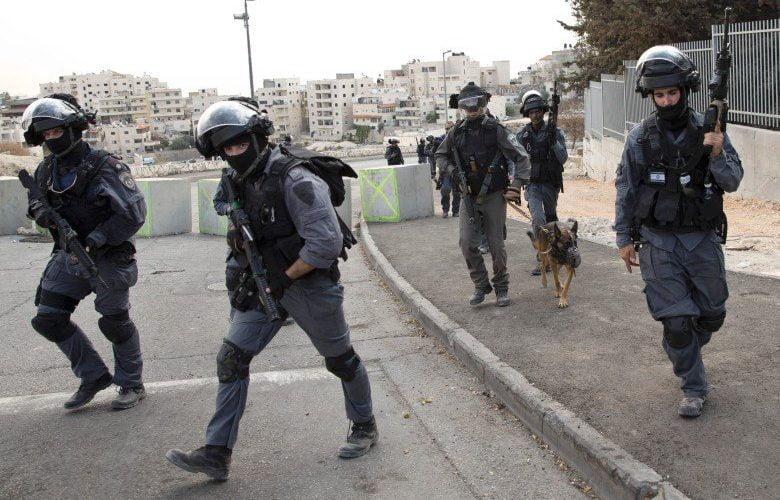 以色列防恐部隊(圖:法新社)。