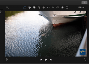 圖吧,調整圖片在視訊短片上的位置。