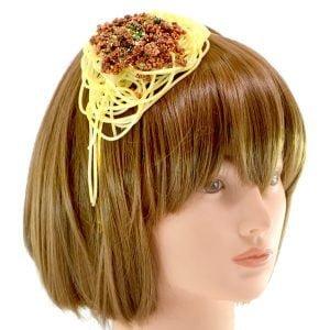 Japan 日本 肉醬意大利麵 頭飾 02 日本流行|肉醬意大利麵...頭飾 女高中生正夯