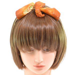 日本流行 肉醬意大利麵...頭飾 女高中生正夯 Japan 日本 肉醬意大利麵 頭飾 06