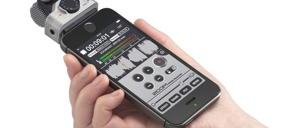 iPhone 外接麥克風 Zoom iQ7
