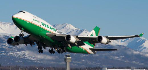 EVA Air Cargo Boeing 747-400