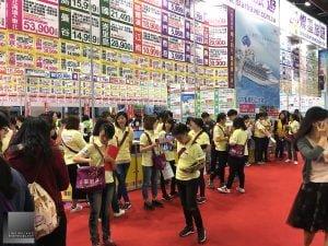 ITF 秋季旅展行銷活動(攝影/林金亮)