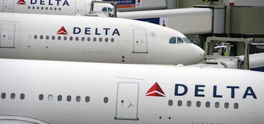 Delta Airplane Aircraft Birds of a Feather 繼威航停飛、復興解散,專飛美國的達美航空自今(2017)年5月起退出臺灣市場