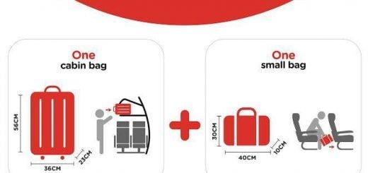 AirAsia Cabin Baggage Allowance Rules AirAsia 亞洲航空手提行李規定須知|尺寸、件數、免費托運(廉價航空)