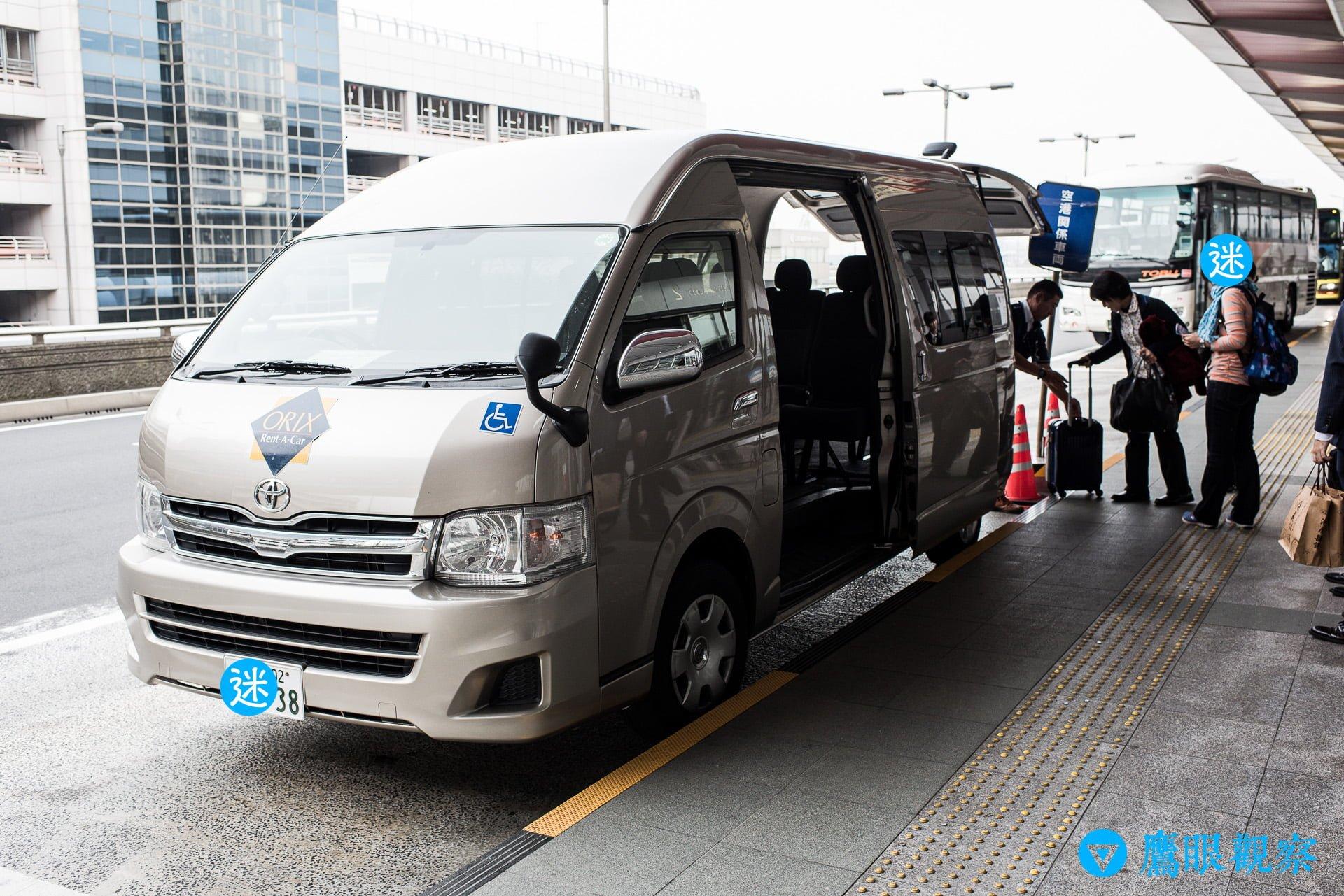 Rental Cars in Airport Tokyo Japan with Orix 4 日本租車:從東京機場自駕暢遊北關東 3 縣的旅遊行程預定、租取還車教學