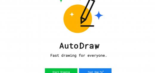 AutoDraw AI Paint Paring OfficalPage 新簡報神器「AutoDraw」讓藝術家幫你解決手指障礙的 A.I 繪圖技術!