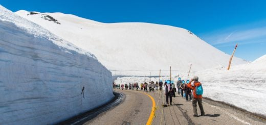 travel snow valley wall Tateyama Kurobe Japan 日本富山/立山黑部(雪之大谷)2017 年開山日確定!