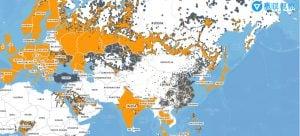 Amazon Kindle 3G cover Map 亞馬遜 Amazon Kindle 電子書閱讀器全球免費 3G 網路系統之購買前注意事項