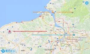 Taiwan Airport Map Taoyuan Chiang Kaishek Taipei Songshan Airport and Tamsui water airport 旅遊冷知識/臺灣本島最北邊的機場是哪一座?