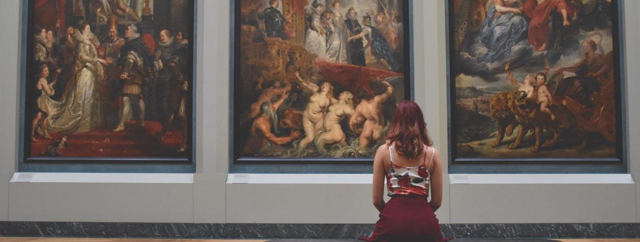 故宮南院「日本美術之最 東京 九州博物館」特展,親子同遊享超值優惠! British Museum red art relaxation girl