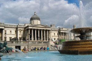 National gallery London UK 英國倫敦 10 個必須去一次的旅遊聖地 十大熱門景點大公開