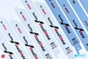 bosch reciprocating saw blade color white blue 如何挑選 BOSCH 軍刀鋸的鋸片?根據施工目的、材料選購不同顏色的鋸片!