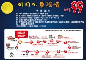 Taipeisightseeing Taipei Bus Travel Route Map October Promotion 台北市雙層觀光巴士 10 月優惠促銷活動只要 99 元