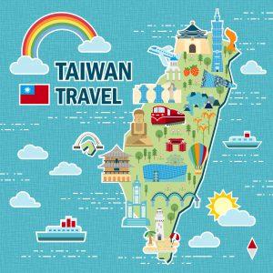 Taiwan Travel Map 2017 台灣旅遊:連續假期全攻略