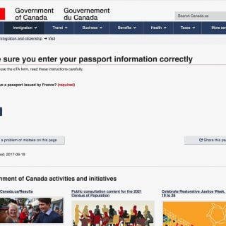 Canada eTA Electronic Travel Authorization Entry Apply 加拿大旅遊:電子旅行授權簽證(Canada eTA)入境與申請說明