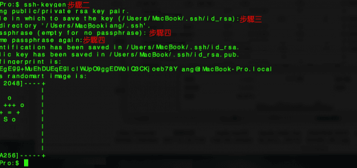 Generate SSH KEY Keygen Apple MacOS 在蘋果 Apple Mac OS 終端機手動創建生成 SSH 密鑰(公鑰、私鑰)
