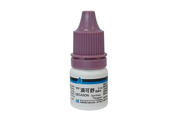 Decason Eye Drops KINGDOM 藥品回收:滴可舒眼藥水 DECASON EYE DROPS 眼科用藥(2018.04)