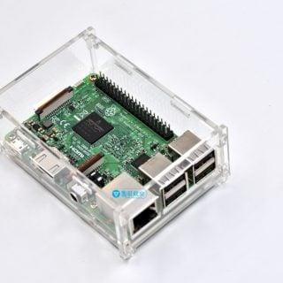 Raspberry Pi Case 04 樹莓派筆記:Raspberry Pi  Model B+, Pi 2, Pi 3壓克力外殼組裝與重點提醒