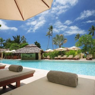 tourist resort hotel pool accomodation Blue Sky 台南觀光局主辦 5 月住宿高級飯店、旅館,第二晚免費睡還送機票!