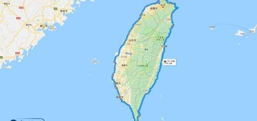 Around Taiwan Island