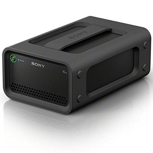 Sony PSZRA 4T 6T Portable RAID Stroage Product Image Sony RAID 行動硬碟外接盒 戶外旅行抗震、極限運動耐操推薦