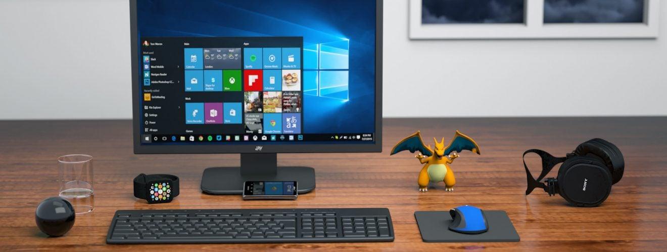 computer monitor on table wireless mouse keyboard desk LCD 無線滑鼠、無線鍵盤訊號不良導致干擾中斷、游標飄移的解決方案
