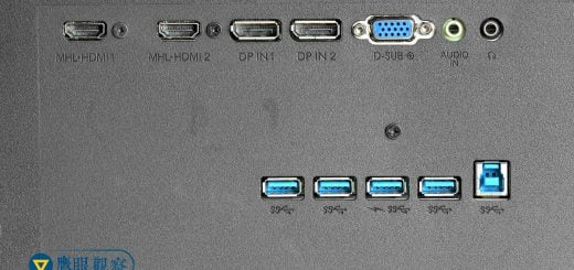 usb port extender behind lcd monitor Philips 43 BDM4350UC 電腦螢幕選購要注意的事:LCD背面的USB擴充孔