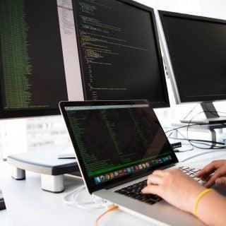 monitor Program screen macbook apple Language Window Office Vi/Vim 程式與文書編輯軟體之操作指令速記表
