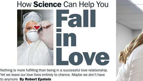 科學研究:讓他墜入愛河的戀愛秘密