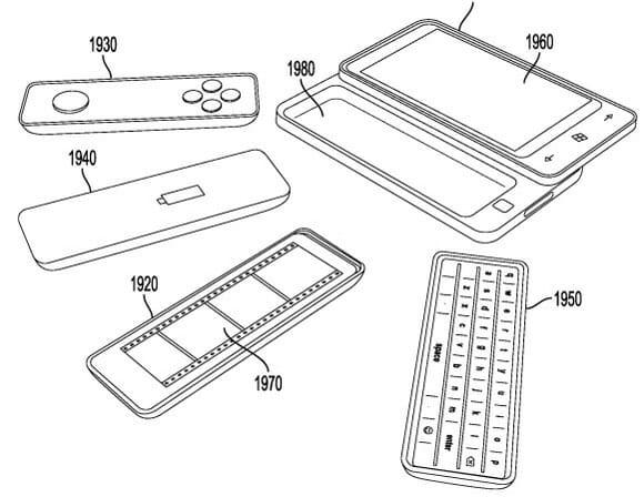 Microsoft Module patent 09232011 從微軟新專利「WIN Phone 滑蓋」探討專利申請必要性與企業營運陷阱