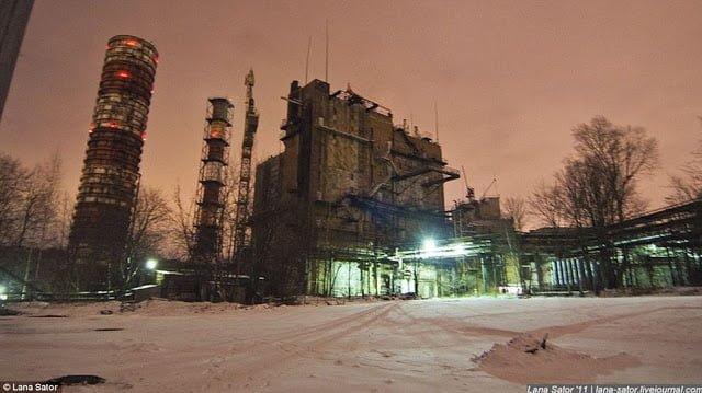 Secret Photography NPO Energomash factory of Russia 10 俄羅斯少女 Lana 秘密潛入莫斯科火箭工廠