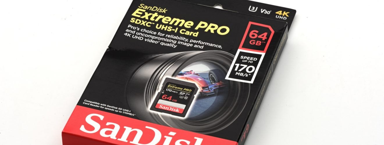 SanDisk Extreme PRO SD Card 64GB