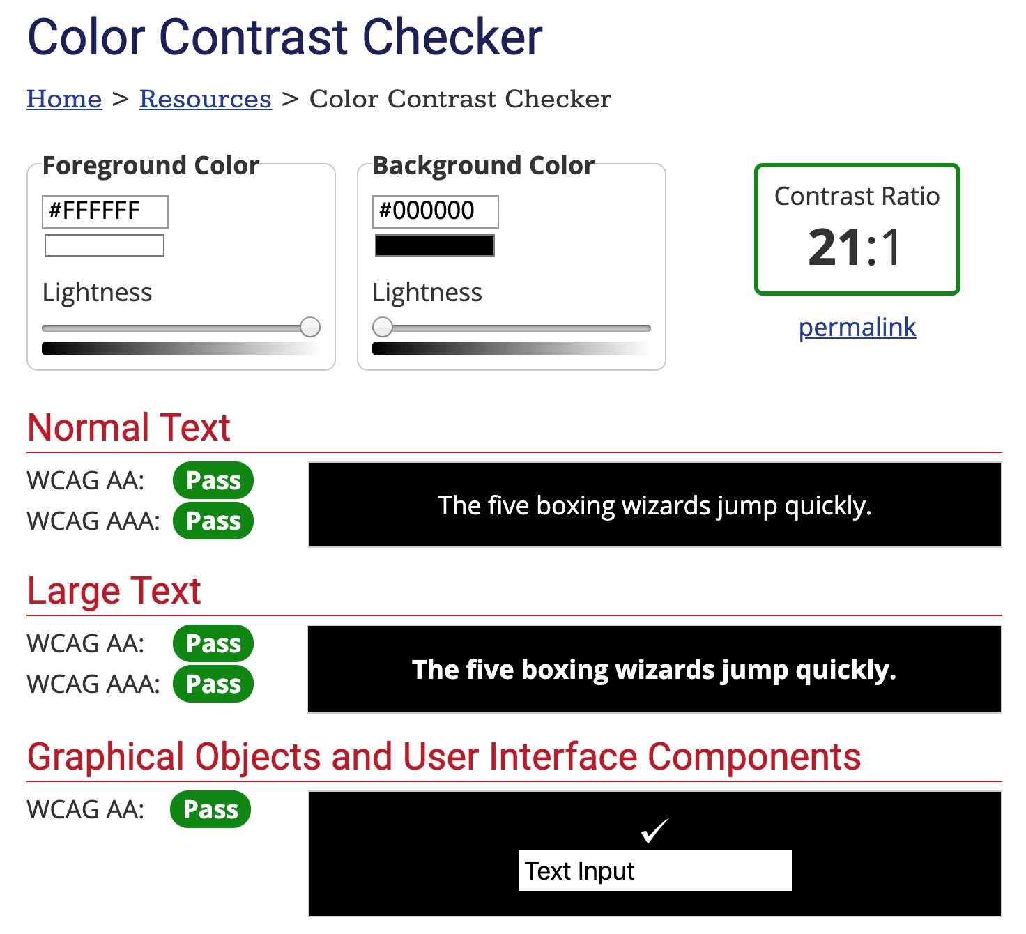 Color Contrast Checker Black and White 色彩學:高可讀性配色對比度檢查,杜絕門牌顏色之亂