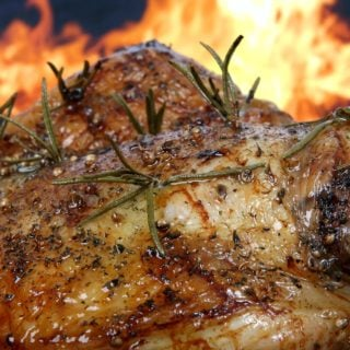 Kitchen roast chicken rosemary flame barbecue bbq food 宵夜時間:萬惡的登山乾糧「營養口糧」