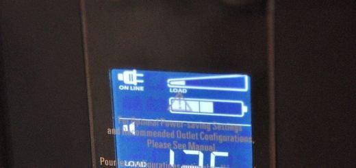 Lcd Information UPS APC PRO 1000 37 UPS 不斷電系統介紹教學、採購建議與產品推薦
