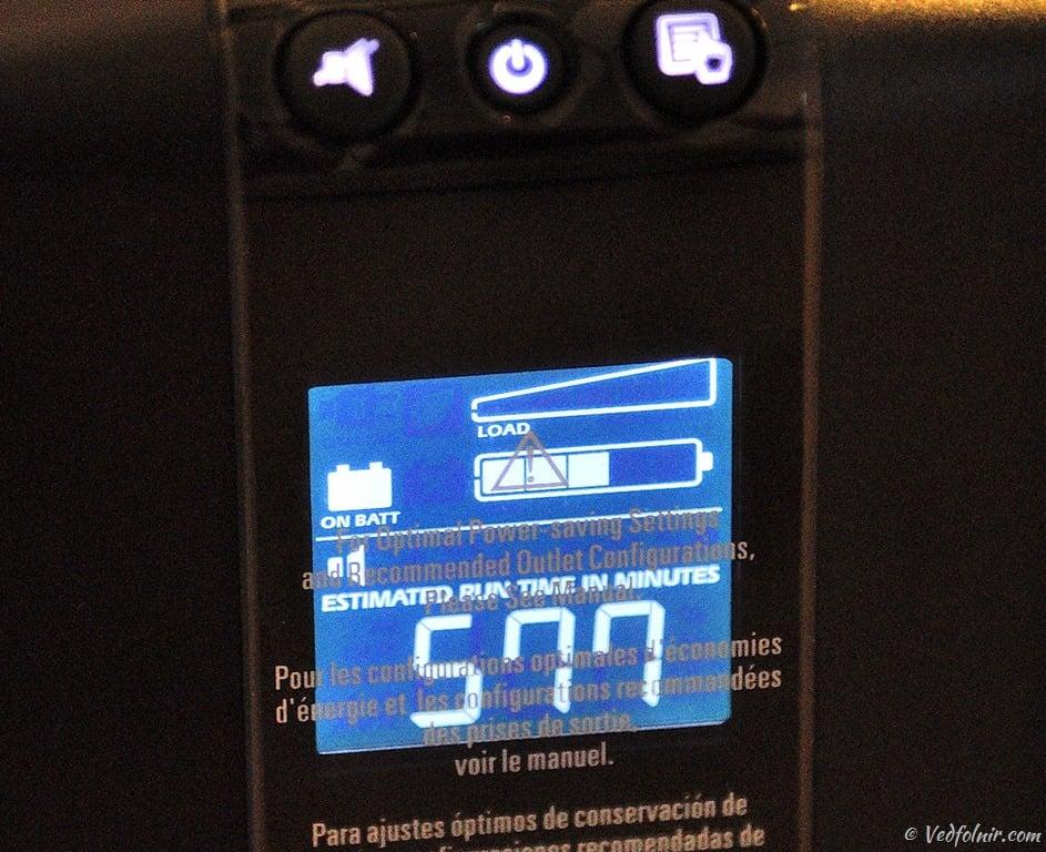 按下顯示切換按鈕後可讓LCD發光顯示。
