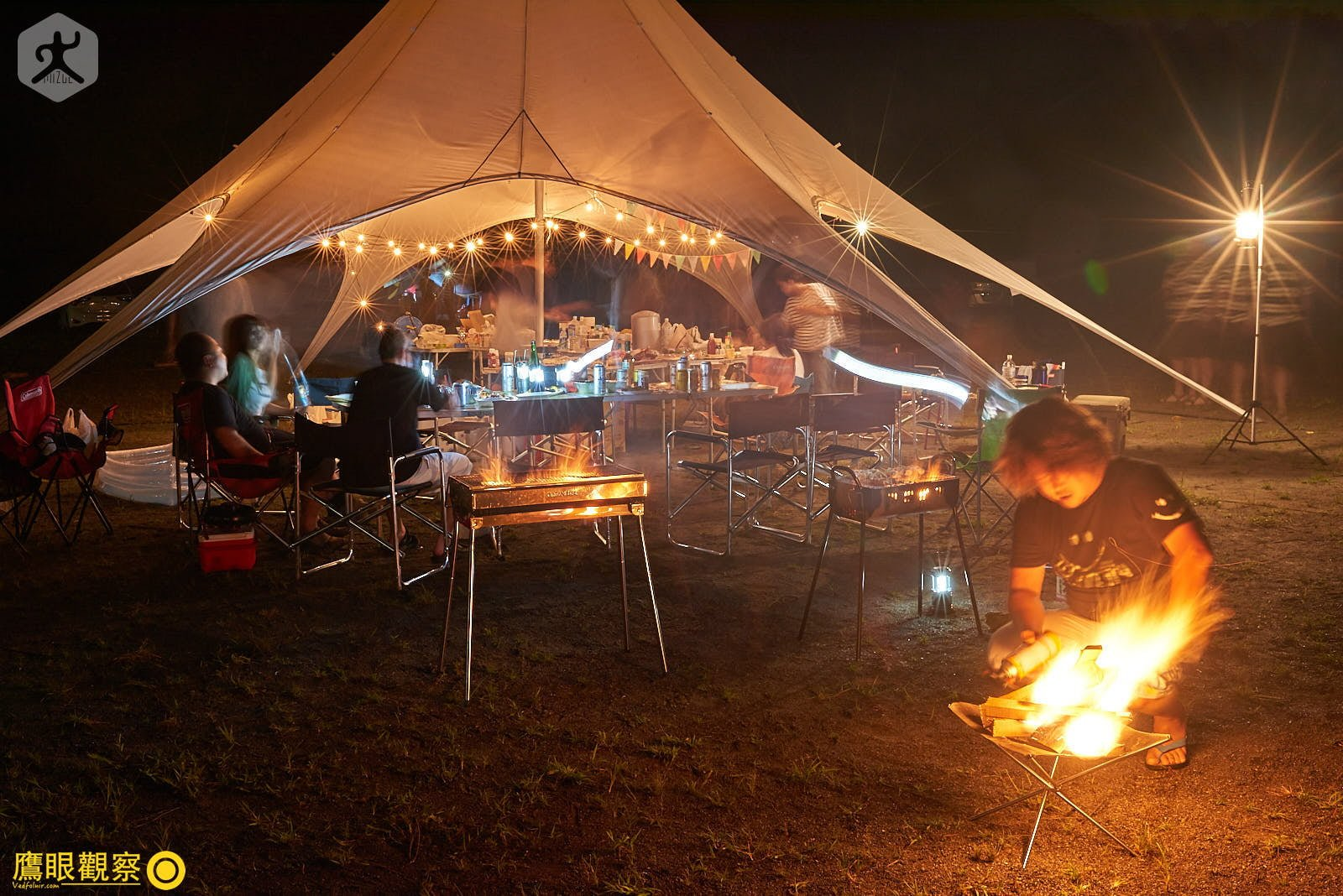 Japan Travel Barbecue party School 20190817192354 日本廢棄小學 🚗 RV 休旅車露營、森林探險之旅(櫪木縣鹿沼市立久我小學)🇯🇵⛺️
