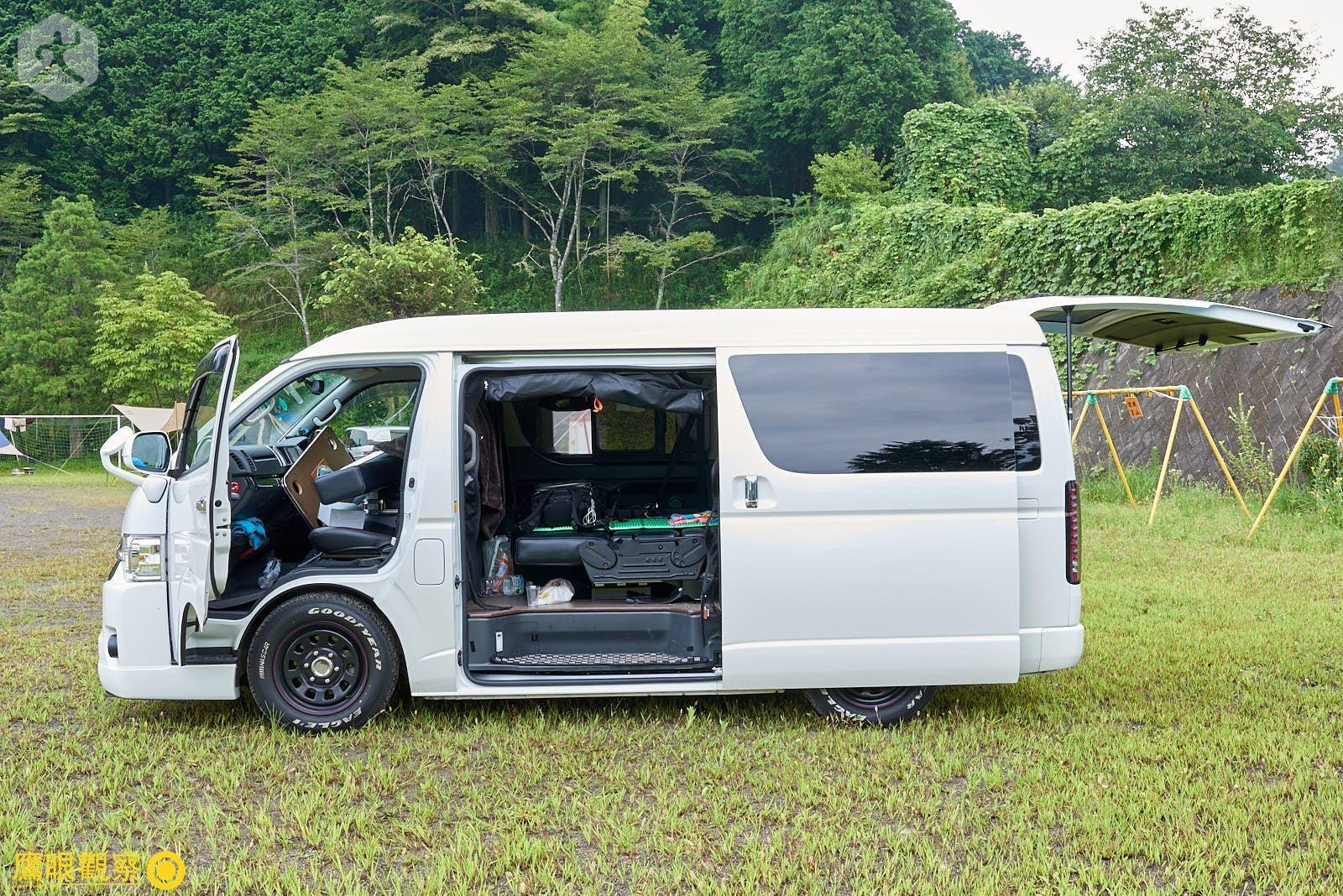 Japan Travel RV Camper toyota hiace 20190818053055 日本廢棄小學 🚗 RV 休旅車露營、森林探險之旅(櫪木縣鹿沼市立久我小學)🇯🇵⛺️