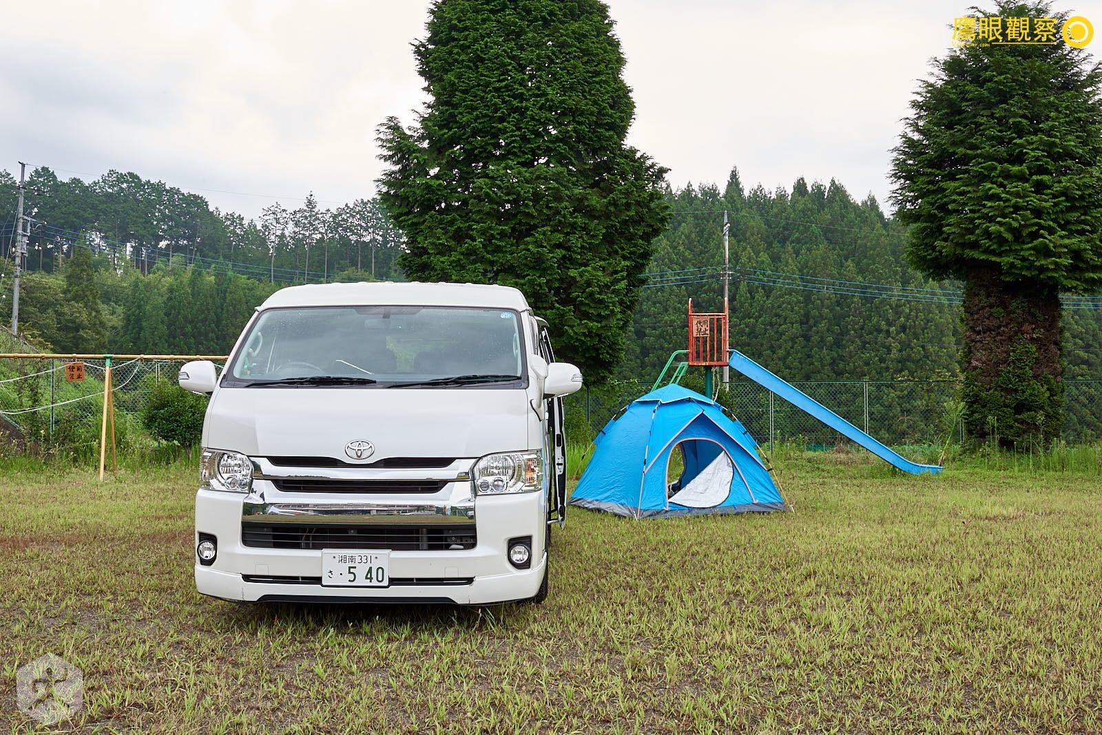 Japan Travel RV Camper toyota hiace 20190818053248 日本廢棄小學 🚗 RV 休旅車露營、森林探險之旅(櫪木縣鹿沼市立久我小學)🇯🇵⛺️