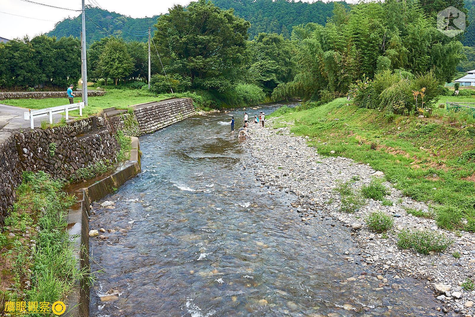 Japan Travel River Stream 20190817153450 日本廢棄小學 🚗 RV 休旅車露營、森林探險之旅(櫪木縣鹿沼市立久我小學)🇯🇵⛺️