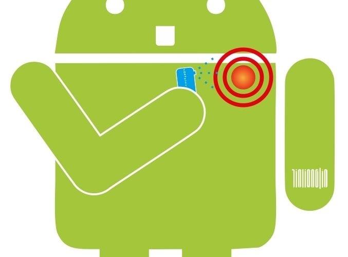 低頭族危機:醫學界警告智慧型手機的使用危害健康 Google Android Stiff Shoulder Funny Image
