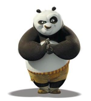 Kung Fu Panda Greet salute 拱手不握手:武漢病毒 2019-nCoV 對抗傳染之新禮貌運動