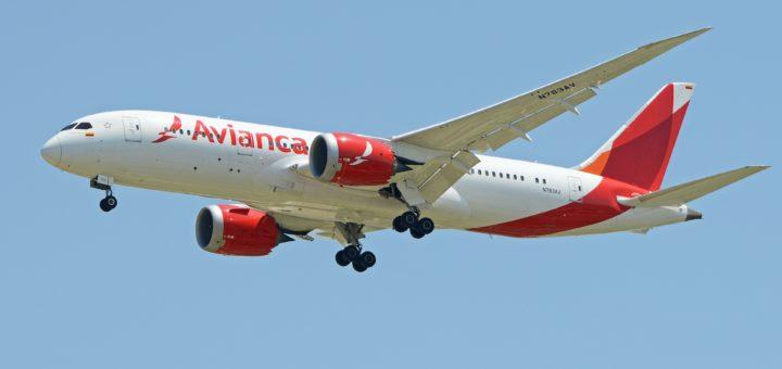 Avianca AV Boeing 787 8 N783AV Avianca 哥倫比亞航空 Worry-Free 免除改票手續費政策