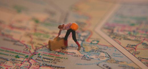 Doll luggage map woman Google My Maps 谷歌我的地圖用蘋果 Apple iPhone 和 iPad 開啟自訂景點的內建網站